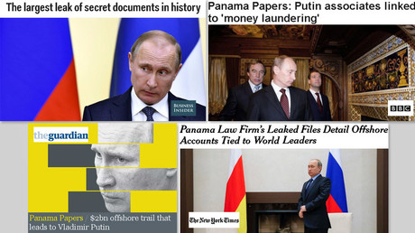 'Goebbels had less-biased articles': Public slams MSM for Putin focus after Panama papers leak
