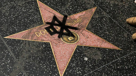 Spit, wee & poo: Donald Trump's Hollywood star keeps getting defaced (PHOTOS)