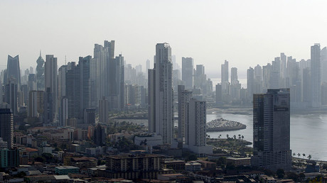 A general view of the skyline of Panama City. © Carlos Jasso