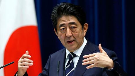 Japan's Prime Minister Shinzo Abe © Yuya Shino
