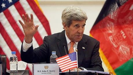 'Kerry's praise of Afghan govt security efforts is blatant propaganda'
