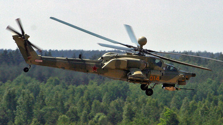 Mi-28N gunship crashes near Homs, both pilots dead – Russian Defense Ministry