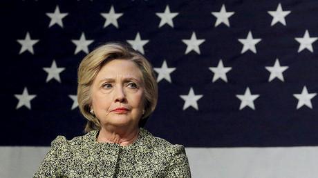 Democratic presidential candidate Hillary Clinton. ©Lucas Jackson