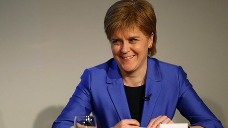 Nicola Sturgeon, leader of the Scottish National Party © Russell Cheyne