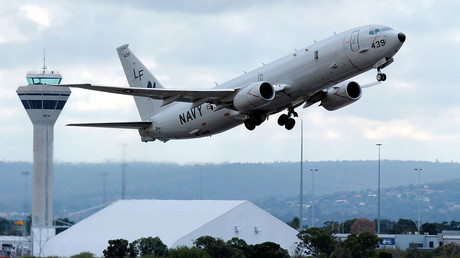 A U.S. Navy P-8 Poseidon aircraft © Greg Wood
