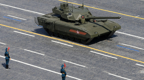 A T-14 tank with the Armata Universal Combat Platform at the military parade to mark the 70th anniversary of Victory in the 1941-1945 Great Patriotic War. File photo. © Anton Denisov