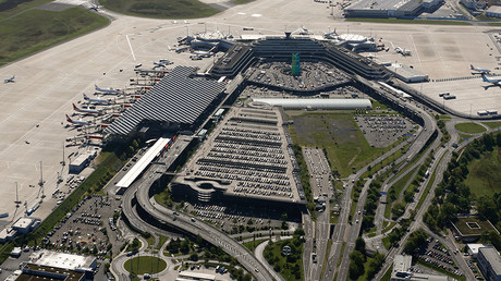 An aerial picture shows the Konrad Adenauer airport of Cologne-Bonn near the North Rhine-Westphalian city of Cologne, Germany © Wolfgang Rattay