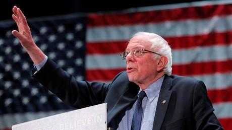 Democratic U.S. presidential candidate Bernie Sanders. ©Lucas Jackson