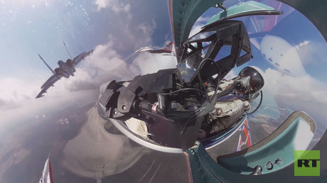 Free your inner pilot with RT's 360 cockpit view of Moscow Victory Day parade rehearsal