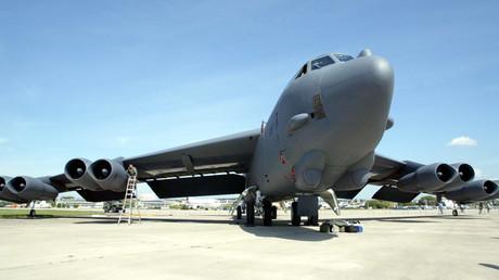 US B-52 bomber © Viktor Korotayev