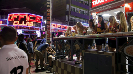 The resort town of Magaluf is popular with young students and porn recruiters. © Enrique Calvo