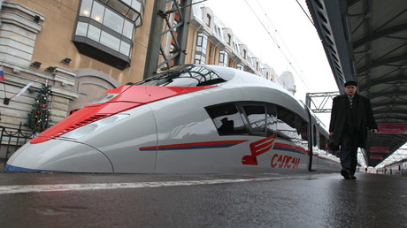 Siemens wants in on Russian high-speed railway project