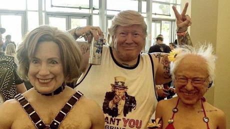 Super realistic & creepy Trump, Clinton, & Sanders masks cannot be unseen