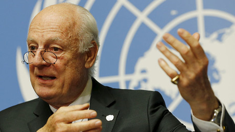 'Miracle ceasefire' must be fostered as one and only plan for Syria – UN envoy de Mistura to RT