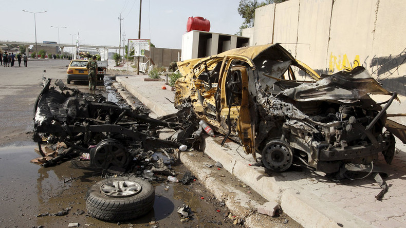 3 bombings in & around Baghdad kill 18, injure 45
