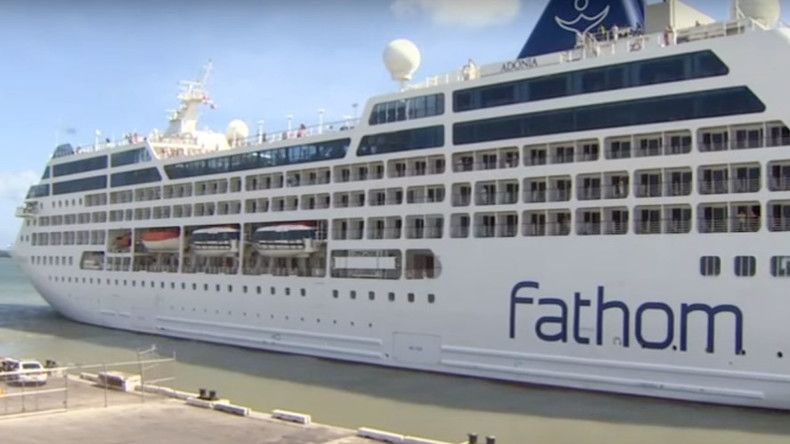 'Making history': First US cruise ship in nearly 40 years reaches Cuba (PHOTOS)