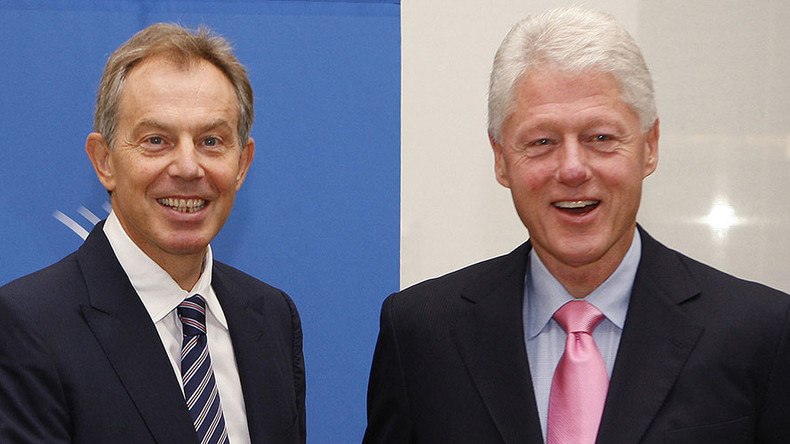 The Bill & Tony Show: Clinton & Blair to join forces to battle Brexit