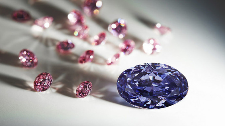 Rare purple diamond found in Australia fit for a king... or Prince