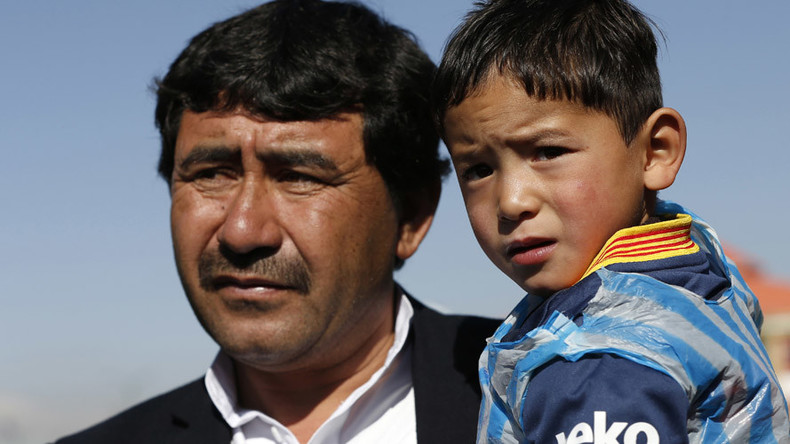 Five-year-old Afghan Messi fan forced to flee homeland after threats