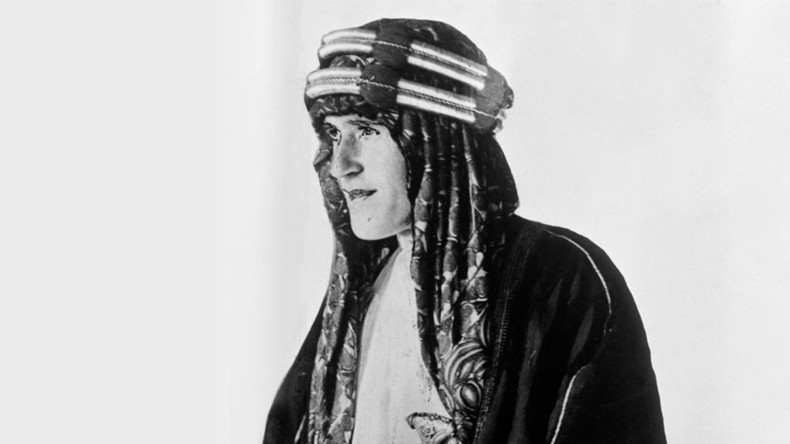 Lawrence of Arabia's robes & dagger must remain in the UK, says Middle East minister