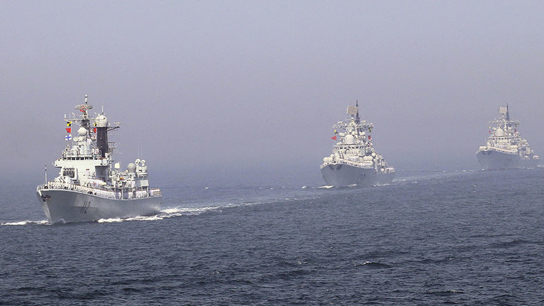 China sends advanced warships to contested S China Sea for drills