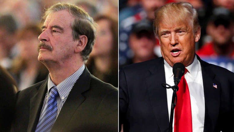 Ex-Mexican President Vicente Fox apologies to Trump for using F-word on 'wall proposal'