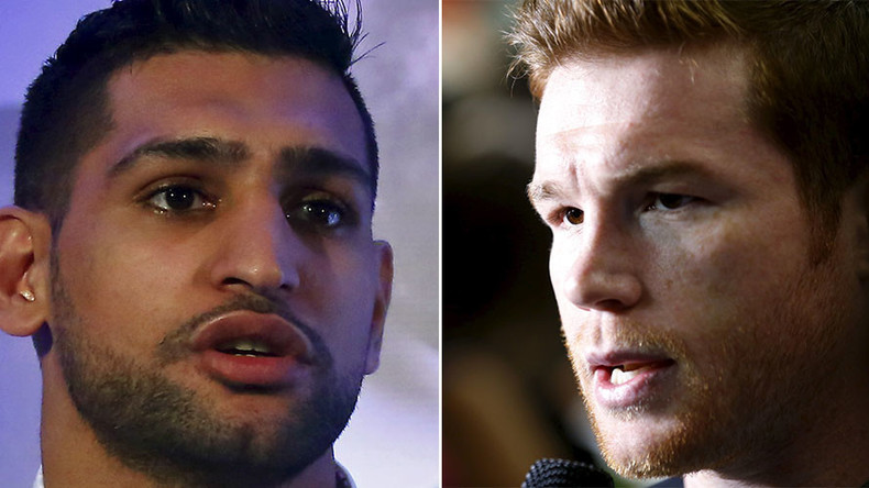 Khan wants victory against Alvarez to set up Mayweather showdown