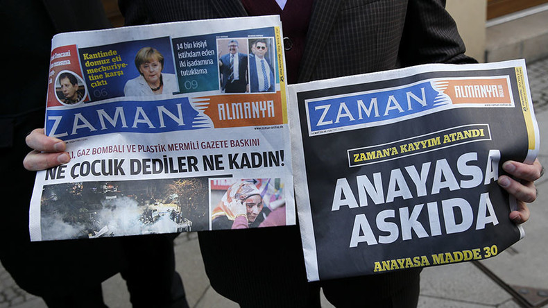 Turkish govt shuts down Zaman newspaper following seizure