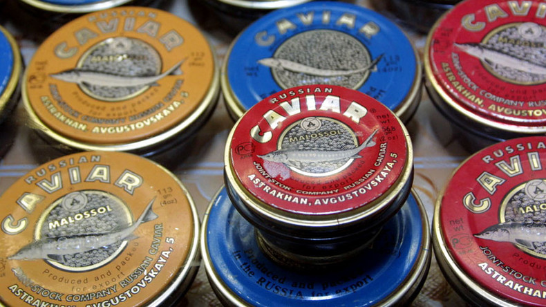 Russia to export black caviar to China