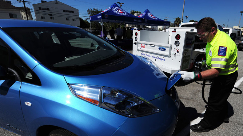 Japan has more electric car charging ports than gas stations