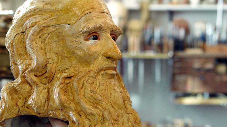 The Da Vinci DNA code: Scientists to restore Leonardo's face with genetic material from his drawings