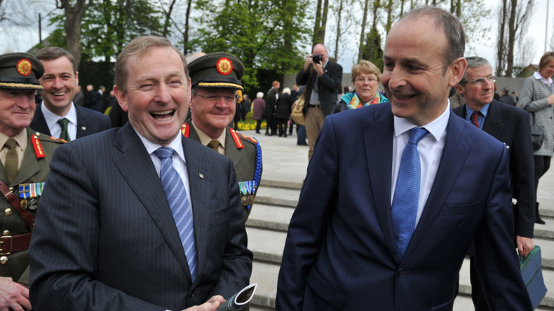 Power grab: Pro-austerity party back in control of Ireland despite 'losing' last election
