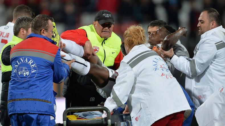 Cameroonian footballer Patrick Ekeng dies after suspected heart attack during match