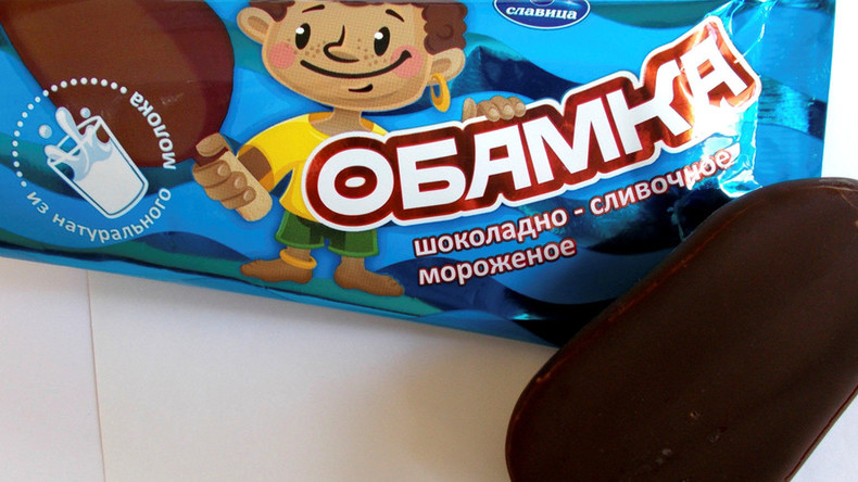 'Obamka ice cream': Russians mock it on the web, US officials feel offended