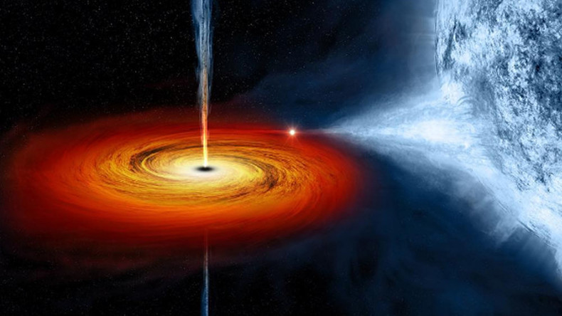 Supermassive black hole weighs in at 660mn times mass of Sun