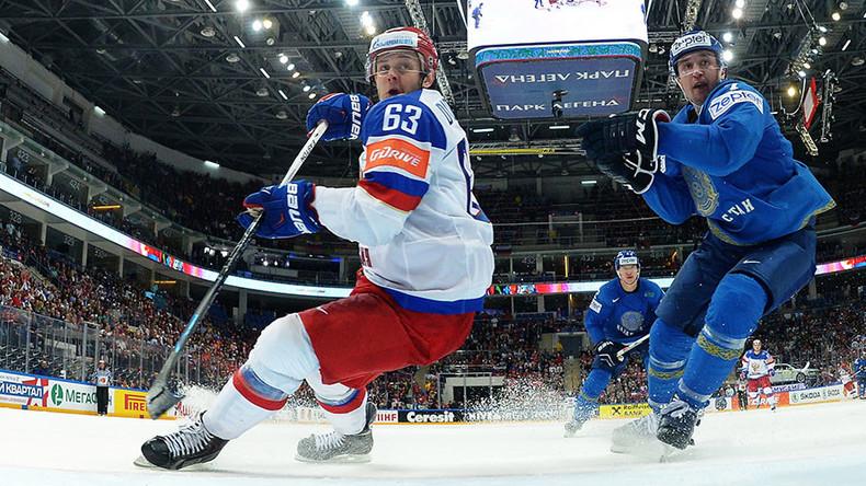 Russia beats Kazakhstan 6-4 on Hockey World Championships Day 3