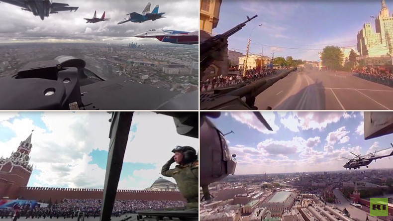 #DigitalVDay in 360: Experience WWII victory celebrations in RT's unique panoramic videos