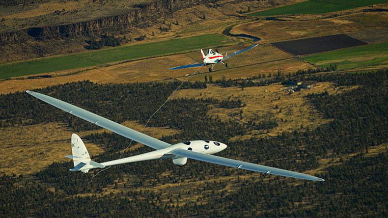 Look, no engine! Wind-powered glider set to explore edge of space (PHOTOS, VIDEO)