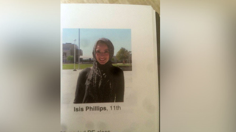 'Isis Phillips': California high school misnames student wearing hijab in yearbook