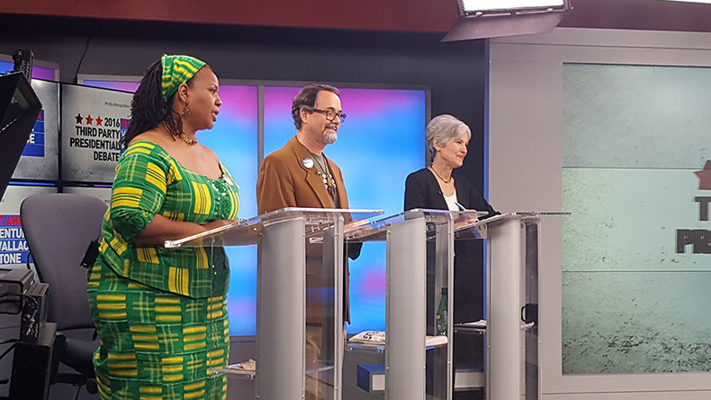 'Lesser evil is not a solution': Green Party candidates debate on RT America