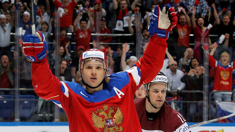 Russia & Canada record big wins on day 4 of Hockey World Championships