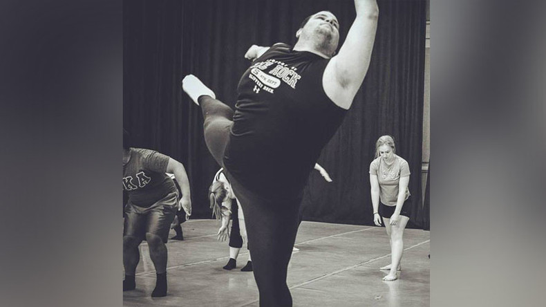 Burly ballet dancer's stunningly graceful moves make him a viral sensation (VIDEOS)