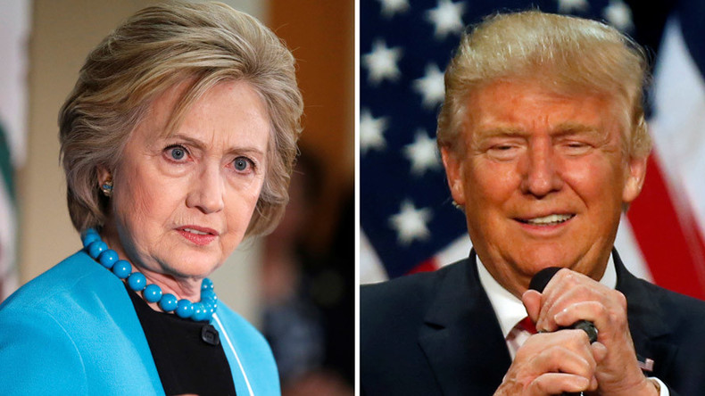 Trump surges into virtual tie with Clinton in general election poll