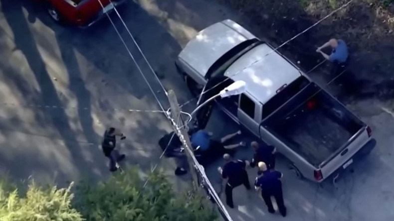 Televised police chase through 2 states ends in beating by cops (VIDEO)