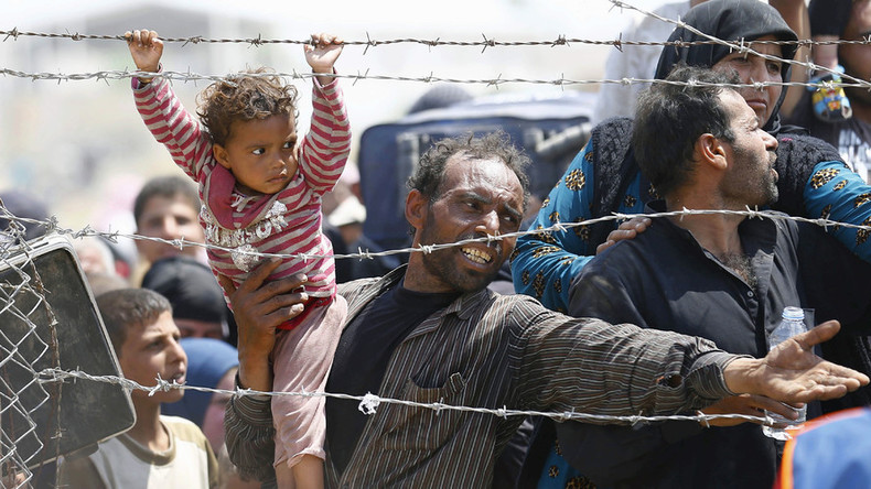 US takes in only 1,736 Syrian refugees of 10k pledged