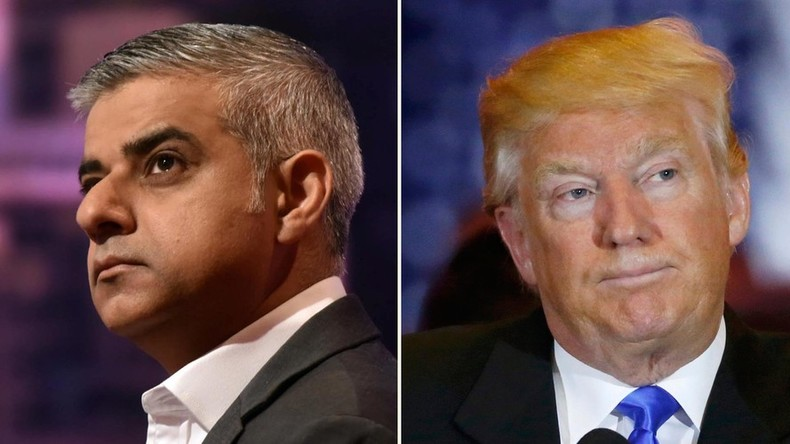 London Mayor Sadiq Khan: 'I hope Donald Trump loses US presidential election'