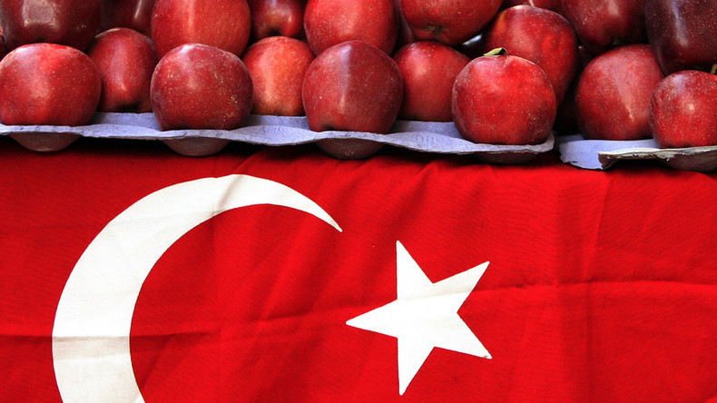 Turkish fruit, vegetables face total ban in Russia