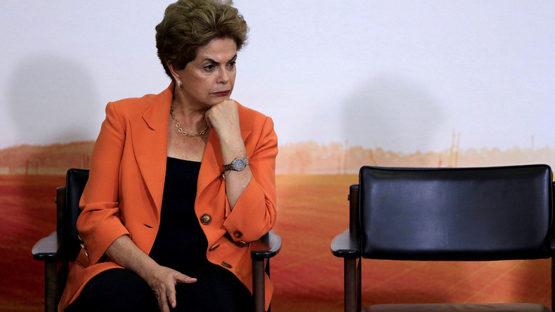 Dilma out: Brazilian plutocracy sets 54mn votes on fire
