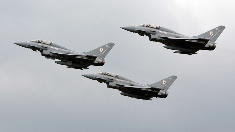RAF fighter jets escort 3 Russian planes over Baltics – UK military