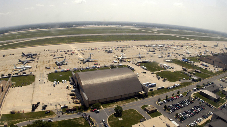 Woman 'with bomb' detained at Andrews AFB outside Washington, DC